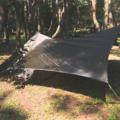 【おすすめのソロタープ】ソロキャンプでは軽量のタープが使いやすい