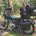 バイクのシートバッグを防水バッグにアップデート【GIVI (ジビ) 防水ドラムバック60L】