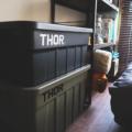 おしゃれなアウトドア収納ボックス!【TRUST Thor Large Totes With Lid 75L or 53L】