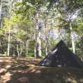 避暑のため立原高原キャンプ場でソロキャンプ【標高1,400mで夏を過ごす】